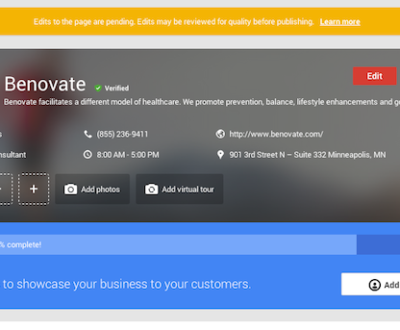 New Tools for Small Business Owners - Google My Business