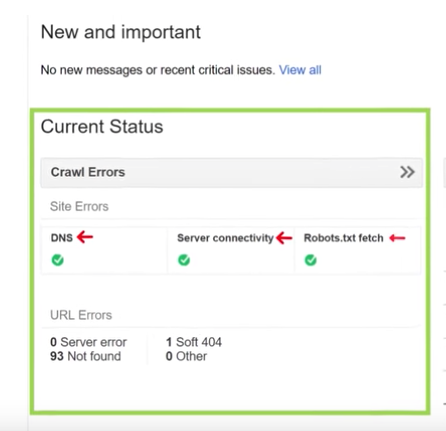 Google Search Console to view Top Technical SEO Issues   TimeZ Marketing