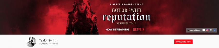 Taylor Swift YouTube Channel