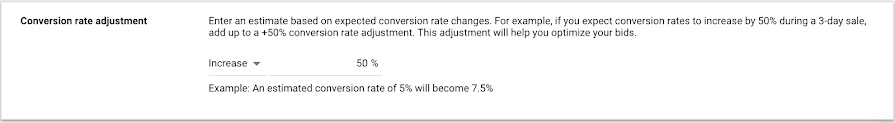 Google Ads - Seasonality Adjustments for Smart Bidding